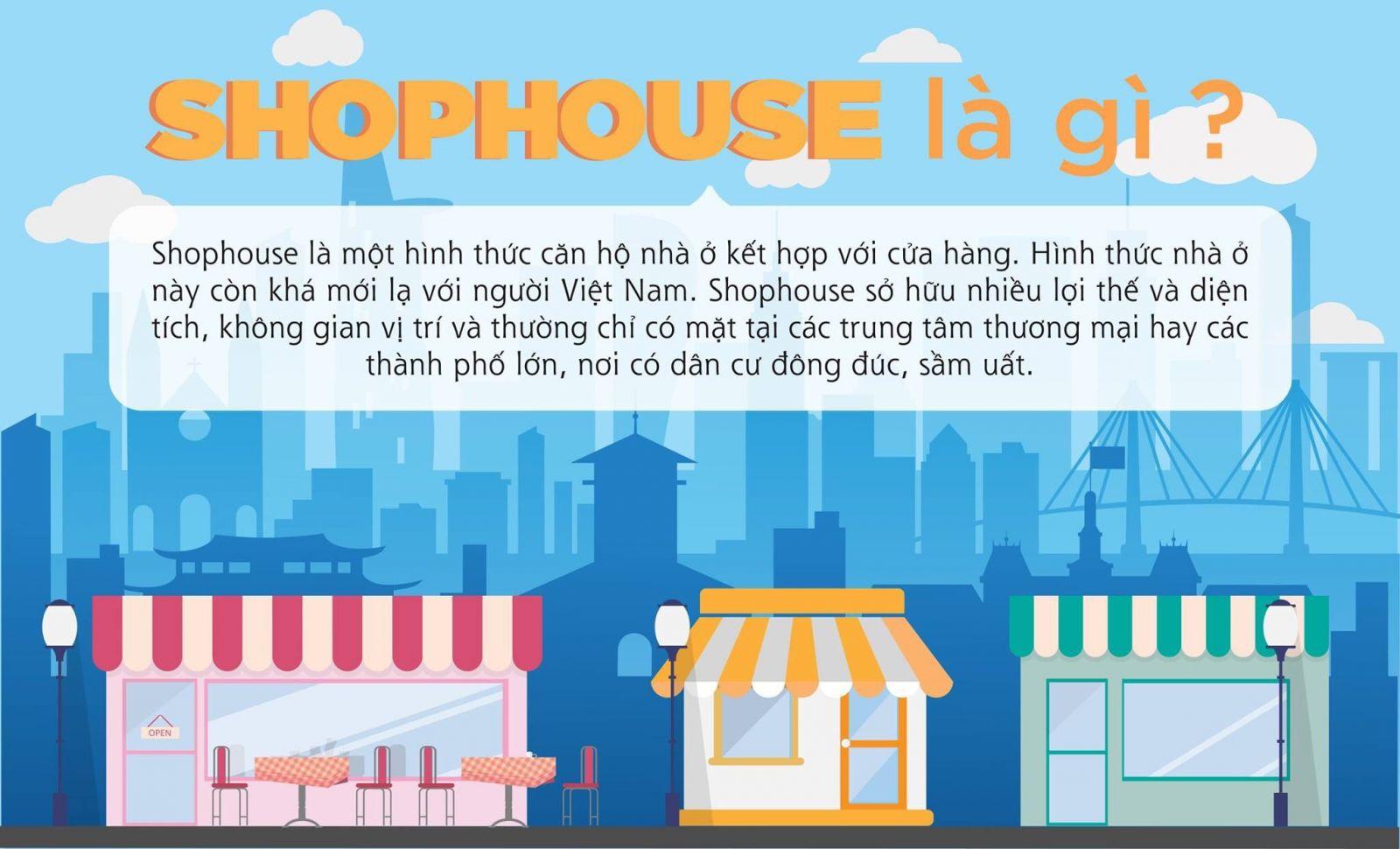 shophouse là gì, khái niệm shophouse